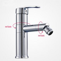 Wholesale Unique Bathroom Sinks - Solid Brass basin Faucet with Drinking Water Function Single Handle unique Design Brass bathroom sink Faucet Mixer Tap A-T067