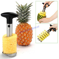 Wholesale Pineapple Peeler Cutter - Fruit Pineapple Corer Slicer Peeler Cutter Parer Knife Kitchen tools Gadget free sipping
