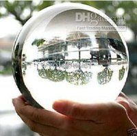Оптовые ASIAN QUARTZ Clear Crystal Ball Sphere 40mm / 110mm + stand AAA