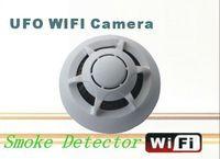 ip ipad großhandel-WiFi Rauchmelder DVR UFO Wireless Mini IP-Kamera P2P Mini DVR Video Recorder für iPhone ipad Android-Handy