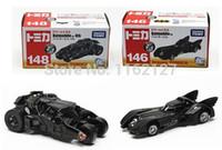 Wholesale Batman Diecast - 10set classic toys NO.146 & 148 dark knight batman old   new batmobile diecast figure tumbler vehicle car toy for baby toy