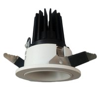 Wholesale shop for beds for sale - Hot Sell High Quality ADC12 W Epistar COB LED Downlight High PF Recessed Ceiling Lamps AC v Spotlight For and Shops