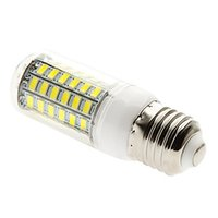 Wholesale E27 Led Corn Natural White - Free shipping led E26 E27 15 W 69 SMD 5730 1500 LM Natural White Corn Bulbs AC 220-240 V