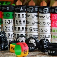 Wholesale Decoration For Ring - Vape Bands E Cigarette Mod Decoration & Protection Ring Silicon Non-Slip Rubber Band For ECig Vapor Mechanical Mods RDA Atomizer DHL free