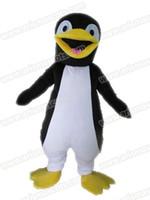 Wholesale Penguin Fancy Dress - AM9200 Penguin mascot costume Fur mascot suit animal mascot outfit adult fancy dress