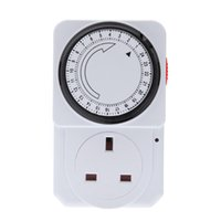 Wholesale Program Switches - Wall Timer Switch Energy Save Program Timer Power Switch 24-Hour Mechanical Electrical Home security system control Power Switch