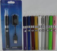 ecigs starter achat en gros de-Kit de blister pour ecig eGo EVOD MT3 avec ecigs 650mah 900mah 1100mAH evod batterie MT3 vaporisateur atomiseur kits de démarrage stylos vaporisateur
