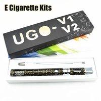 Wholesale Vaporizer T2 Battery - UGO-V2 T2 Vaporizer Kit E Cigarette Kits UGO-T2 Vape Pen Kit 1-15W Variable Wattage 1300mAh Battery Free Shipping