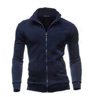 Wholesale qiu dong jacket - Wholesale- 2017 And leisure square collar men jacket unlined upper garment unlined upper garment jacket + size 3 xl fitness qiu dong