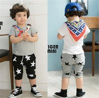 Wholesale Kids Pants Wholesale Prices - 5pcs 2015 new arrive Summer Baby Children Shorts Boys Star Printed Shorts Harem Pants Kids Clothing 2 style best price D007