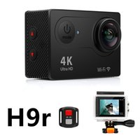 Wholesale Cheap Rock Climbing - Cheap Original EKEN H9r 4K Action Camera Wifi 2 inch LCD WIFI HDMI 30M Waterproof Shockproff 12MP 2.7K 1080P 60fps Sports DV Helmet Cam