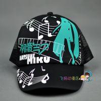 Wholesale Miku Hatsune Hat - Wholesale-Japan Hatsune Miku Hat Anime Hats Cosplay Sun Hats for Birthday & Christmas Gifts