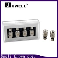 Wholesale head crowns - Uwell Crown coil Sub Ohm Tank Replacement coil head Dual Vertical Coils 0.5ohm 0.25ohm Ni200 TC Dual Coil 0.15ohm 0266064