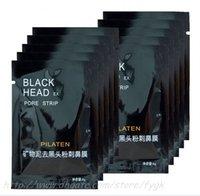 siyah başlı çamur toptan satış-Yetkilendirme 10 ADET PILATEN Yırtılma tarzı Derin Temizleyici temizleme Siyah nokta soyulabilir, akne tedavisi, siyah kafaları siyah çamur çamur
