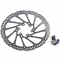 Wholesale Disc Brake Rotor 2pcs - MTB Disc Brake Rotor With 12 Bolts Parts 2pcs set Free shipping 160mm Bicycle Disc brake Bicycle Part