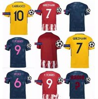 e3daa111a Soccer Men Short Top Atletico Madrid Champions League Soccer Jerseys  GRIEZMANN 2017 2018 F TORRES CARRASCO