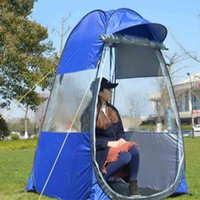 Wholesale Pop Up Tents - Wholesale- 2017 private spectator sport field view concert holding automatic pop up wind proof rain shade fishing outdoor camping tent