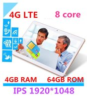 Wholesale The latest version G LTE Phone inch tablet android core processors IPS screen dual SIM card call GB memory card