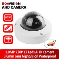 Wholesale Security Cameras Vandal Proof Dome - 1.0 Mega Pixel 720P AHD Dome Camera AHDM CCTV Security HD 1.0MP Cameras IR Night Vision Vandal-proof Outdoor For AHD DVR