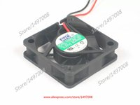 Wholesale 12v Server Fans - Free Shipping For AVC DS04010S12L -003 DC 12V 0.08A, 2-wire 2-pin connector 60mm, 40x40x10mm Server Square fan