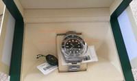 Wholesale Eta Movement Watches - NOOB Factory Maker TOP Quality V7 Version SA3135 Swiss ETA 3135 Movement 44mm Ceramic 116660 116660 D-black Automatic Mens Watch Watches