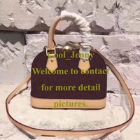 Wholesale High Bb - ALMA BB PM women handbags high quality new arrival designer brand shoulder bags cross body messenger bag tote bags fashion bolsa feminina
