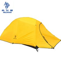 Wholesale cycling tent - Wholesale- Hillman 2 Person 4 seasons Aluminum Rod Ultralight Hiking Waterproof Cycling Beach Fishing Park Travel Outdoor Camping Tent
