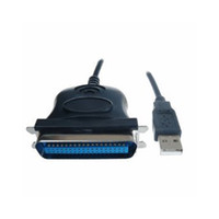 Wholesale printer cable usb adapter - Wholesale- PROMOTION! USB to Parallel 36 Pin Centronics Printer Adapter Cable