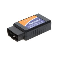 Wholesale Wholesale Toyota Interface - Kkmoon ELM327 Bluetooth Auto Diagnostic Interface Car Scanner Vehicle Tools Supports All OBDII Protocols Free Shipping K341