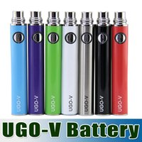Wholesale Ego Cigaret - E Cigarette Ego Evod Passthrouh UGO-V battery with micro usb cable ego battery with GS H2 atomizer tank ego atomizer e cigaret seven--eleven