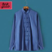 Wholesale Taiji Uniform Free Shipping - Wholesale-JW08 wushu suits men and women Chinese Kung fu Taiji suits autumn and winter Tai Chi uniforms 2016 free shipping