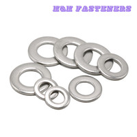 Wholesale Bolt Grades - A2 Grade Stainless Steel Flat Washers To Fit Bolts & Screws M1.6 M2 M2.5 M3