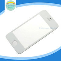 Wholesale Apple Iphone 4s For Sale - Sales For iPhone 4 4G 4S High Quality Front Outer Glass Lens Screen Cover Replacement Black White DHL Free Shipping