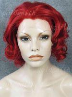 kırmızı peruk kanekalon toptan satış-10