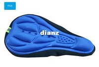 Wholesale saddle online - New Arrive High Quality Bicycle Saddle Bicycle Parts Cycling Seat Mat Comfortable Cushion Soft Pad Bicycle Seat Cover