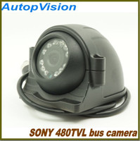 Wholesale Camera Ccd - mini Car bus camera with 12PCS IR Leds Sony CCD 480TVL infrared waterproof Bus Security Camera for 1CH 2CH 4CH DVR
