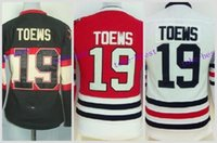 Wholesale Womens Red Shirts - Womens Blackhawks Jersey #19 Jonathan Toews Black Alternate Red Home Cheap 2016 Chicago Blackhawks Hockey Jersey White Shirt