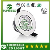 luces de techo al por mayor-Downlights 9W 12W AC85V-265V LED Downlight empotrable de techo Lámpara de pared LED Foco con LED Driver para la iluminación del hogar
