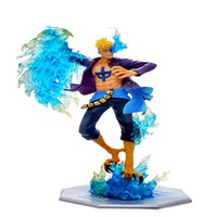 Wholesale One Piece Anime Pop Dx - Anime One Piece P.O.P Pop Dx Mas Marco The Phoenix Battle Ver. Boxed Pvc Action Figure Collection Model Toy T53