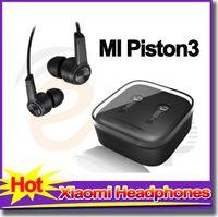 Wholesale Xiaomi Mi Sales - Hot sale Xiaomi headphones Piston 3 earphones noise cancelling headset earbud with Mic 2S Mi Hongmi for iPhone samsung headphone