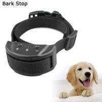 Wholesale Wholesale Barking Collars - No Bark Collar Anti Barking 7 Levels Dog Training Shock Collar Wholesale Pet Supplies