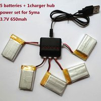 Wholesale Syma Drone X5C Series Battery and Charger Port Hub Set Batteries Charger Hub Upgraded V mAh Syma Accessories