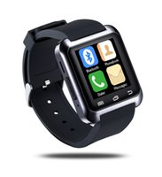 Bluetooth Smart U80 Assista BT-notificação Anti-Lost MTK relógio de pulso para iPhone 4 / 4S / 5 / 5S Samsung S4 / Nota 2 / Nota 3 Android Phone A3