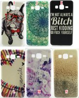 Wholesale Note Teddy Cases - For Samsung Galaxy On5 O5 G550 On7 G6000 J5 Note 5 Sony Z5 Mini Compact Plus Dreamcatcher Cartoon Flower TPU Silicone soft Case Teddy cover