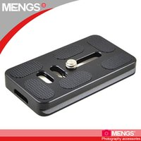 Wholesale Video Screw - Wholesale-MENGS DP70 Camera Quick Release Plate 1 4 inch Mounting Screw for Video Camera DSLR