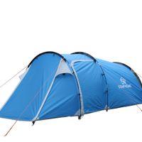 ingrosso tende gonfiabili campeggio familiare-Wholesale- Star Home 3-4 uomo tenda da campeggio tessuto tunnel impermeabile con tenda da spiaggia del soggiorno