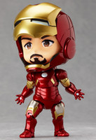 Wholesale New Hot Sale Cute Hero s Edition Nendoroid quot Iron Man Mark7 Tony Stark Set Collection Model Toy cm Figure Action