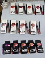 Wholesale Fall Colors - KYLIE LIP KIT Fall Collection liner Lipliner pencil Liquid Matte Lipstick 47 colors Makeup Lip Gloss wicked autumn butternut hazel libra