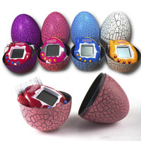 Wholesale Toys Keychain Camera - Tamagotchi Tumbler Toy Perfect For Children Birthday Gift Dinosaur Egg Virtual Pets on a Keychain Digital Pet Electronic Game