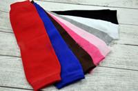 Wholesale Kids Leg Stockings - Pure Cotton Baby Leg Warmer Baby Knee Pads Kids Leg Warmers Kneecap Stocking Legwarmers 8 colors
